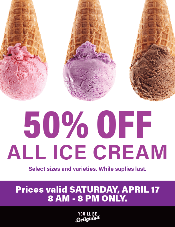 Ice Cream Sale